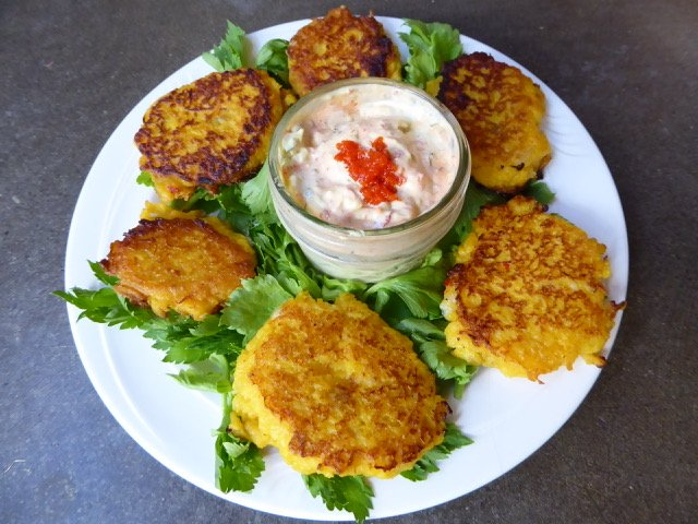 Keto fish cakes recipe