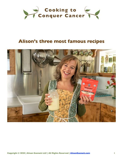 Alison Gannett free keto recipes