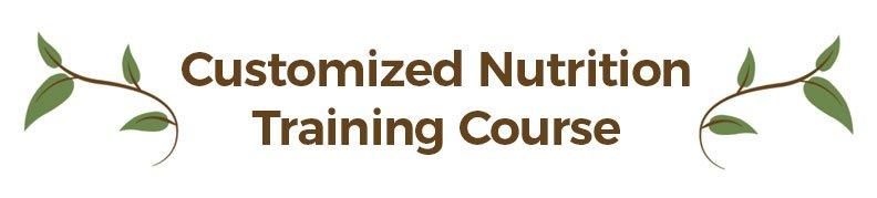 Alison Gannett's Customized Nutrition Training Course